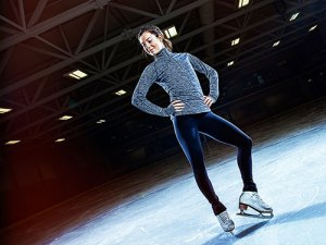 Gold-medal skater studies what she loves, at her own pace