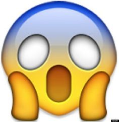 Scream Face Emoji