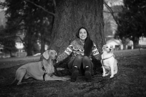 Douglas College VOAC grad pairs dogs with new owners