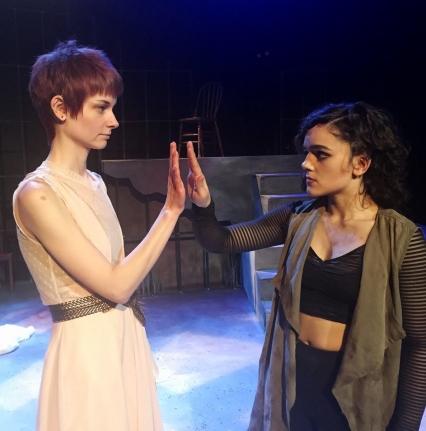 Theatre students perform Sophocles's Antigone
