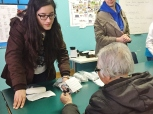 Dispensing Opticianry students participate in Eyeglasses Project to provide glasses to low-income residents