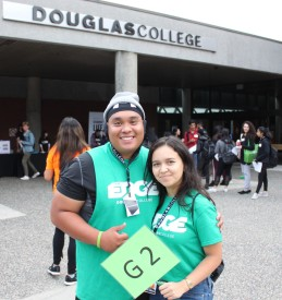 It was three days of fun, friendly competition and mayhem at the EDGE, September's annual event connecting new students to the College community.