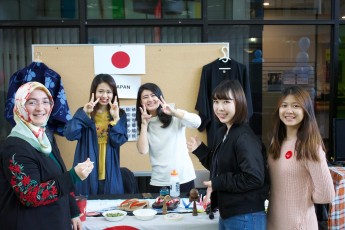 Things took on a worldly air at the second annual Global Engagement Days in November, a weeklong celebration of cultures from around the globe.