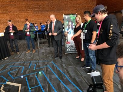 Premier John Horgan visited our booth at the B.C. Tech Summit on March 12.