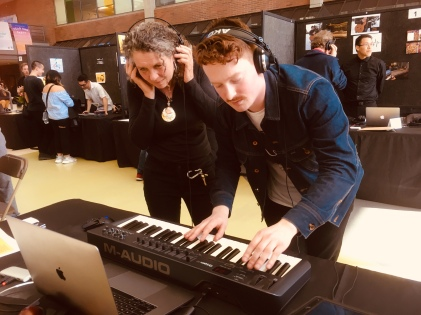 Music Tech Diploma students presented their work at the MTD Portfolio Show on March 28.